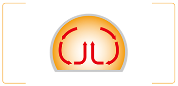 ドーム形状のメリット1